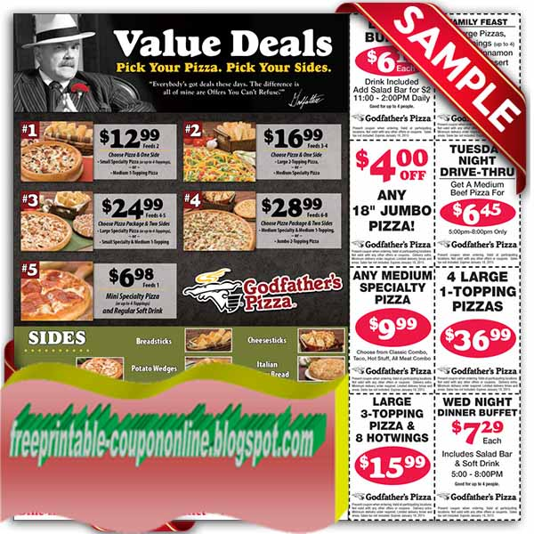 Coupon code godfather five families