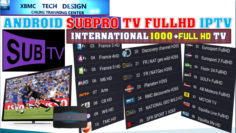 Download SUBPRO IPTV APK- FREE (Live) Channel Stream Update(Pro) IPTV Apk For Android Streaming World Live Tv ,TV Shows,Sports,Movie on Android Quick SUBTV PRO Beta IPTV APK- FREE (Live) Channel Stream Update(Pro)IPTV Android Apk Watch World Premium Cable Live Channel or TV Shows on Android