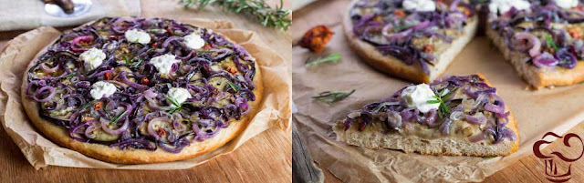 Pizza Blanca receta parte 4