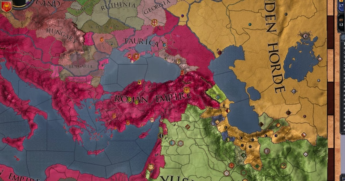 Ionian Dumpster: Playing now  CK2: Roman Empire 1250