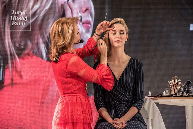 Pokaz makijażu ślubnego Targi Młodej Pary.