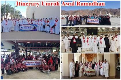 Program Itinerary Umroh 9 Hari Awal Ramadhan Transit