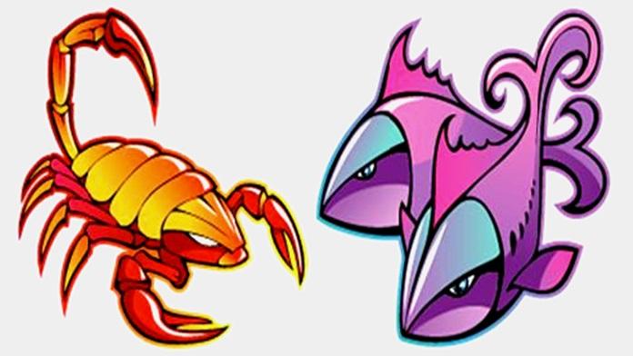 Compatibilità tra Scorpione e Pesci in amore
