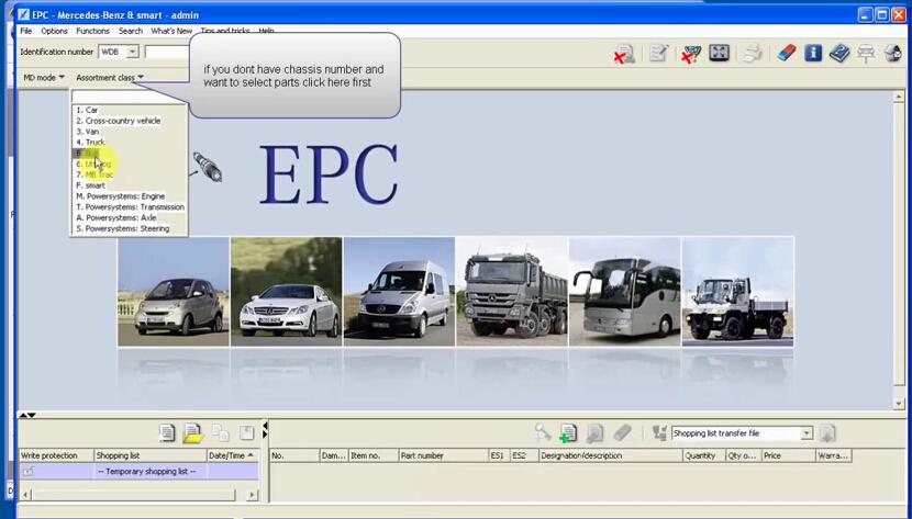 How to use MB STAR diagnostic EPC net software-OBD365 com