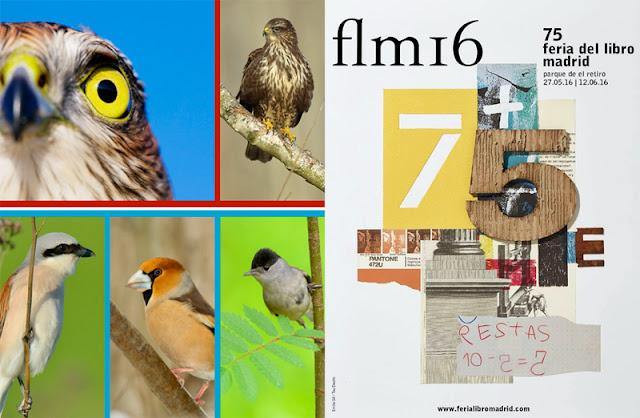 SEO Birdlife y Feria del libro de Madrid
