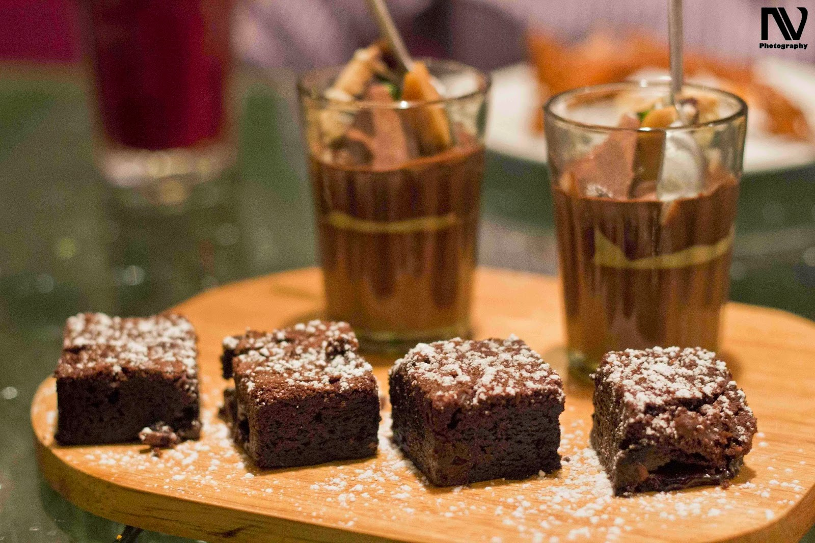 Toblerone Mousse and 5-Star Brownie