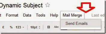 Personalized mail merge in Gmail : eAskme