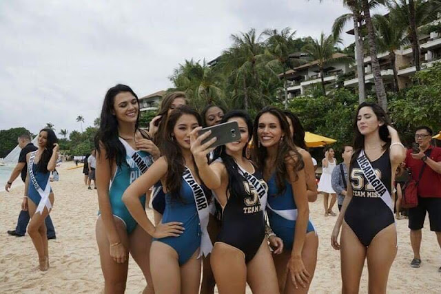 Miss Universe Candidates Go to Boracay and Show Off Their Sexy Beach Bodies! You've Never Seen Them Like This Before!