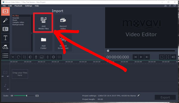 Speeding Up A Video With Movavi Video Editor