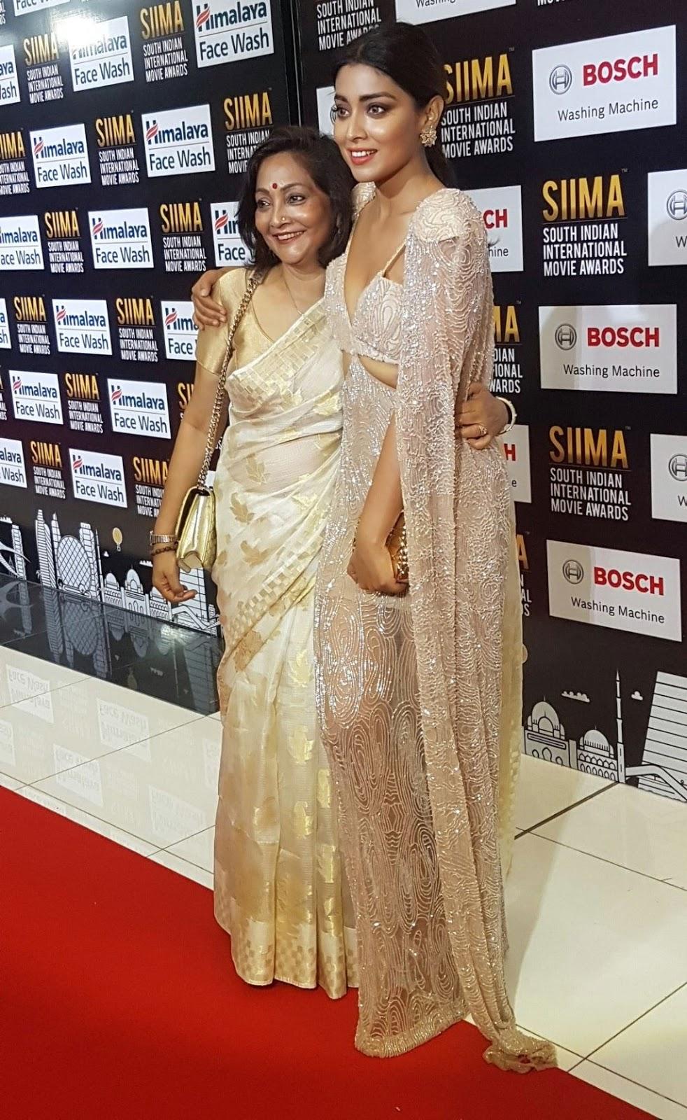 Actress Shriya Saran Photos At SIIMA Awards 2017