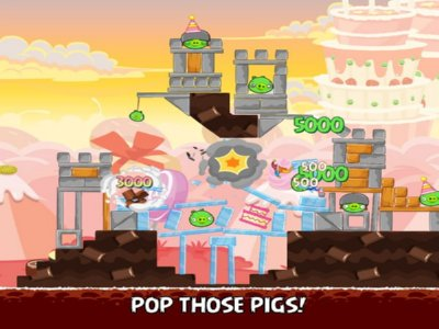 Angry Birds 1 Screenshot 2