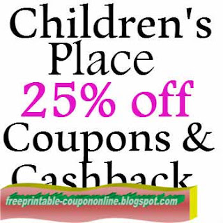 Free Printable Childrens Place Coupons