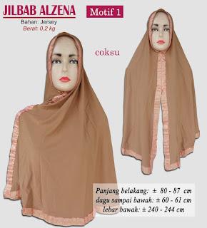 Jilbab syria syar'i terbaru 2017 bahan jersey