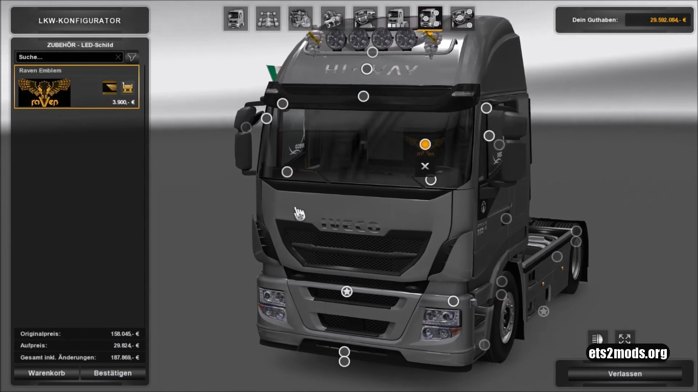 Iveco Hi Way Reworked 1.2 by Schumi