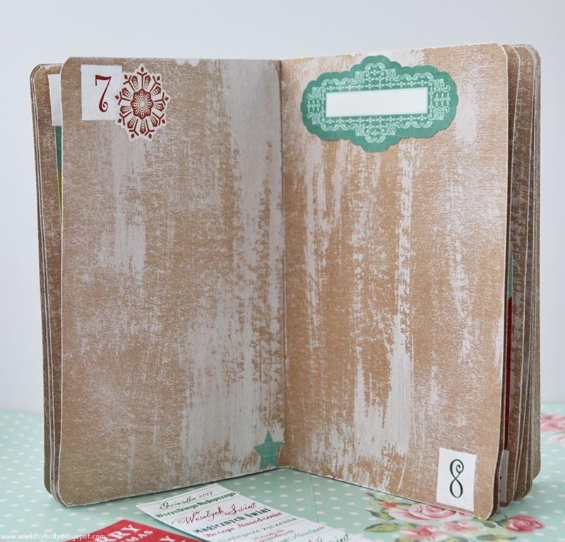 grudniownik, kalendarz adwentowy, pamiętnik grudniowy