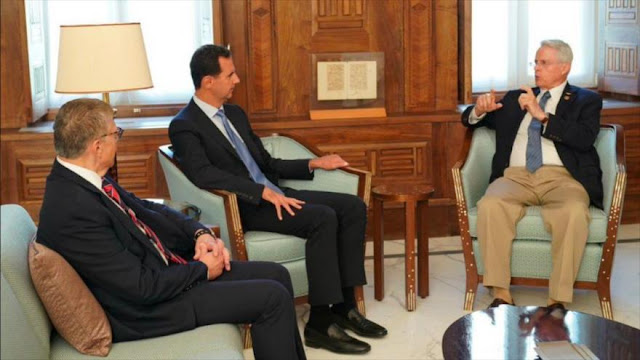 Al-Asad: EEUU depende de amenazas, sanciones y apoyo al terrorismo
