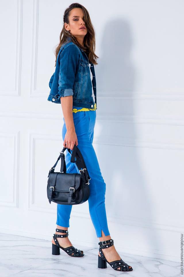 Moda jeans verano 2018. Ropa para mujer verano 2018. Moda 2018.