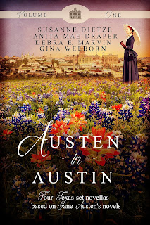 http://www.amazon.com/Austen-Austin-1-Gina-Welborn/dp/1939023777/ref=sr_1_1?ie=UTF8&qid=1447976422&sr=8-1&keywords=austen+in+austin