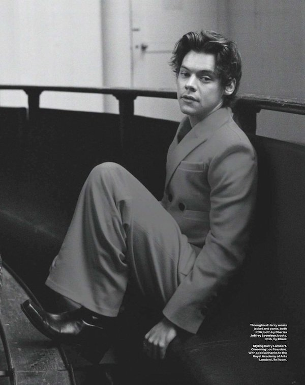 Harry Styles poses for GQ Australia May 2018