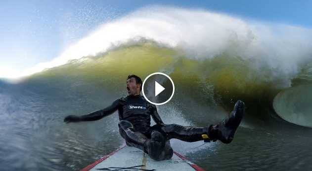 GoPro Francisco Porcella - Mavericks CA - 02 06 17 - Surf