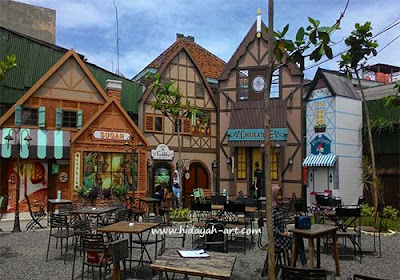 GiggleBox Village Kompol Maksum, Cafe & Resto Paling Instagramable di Semarang