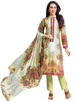 Pakistani Style Salwar Suit Lawn Cotton