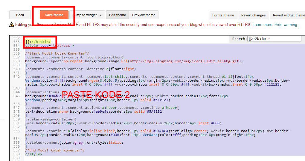 cara merubah tampilan kolom komentar blog dengan mudah