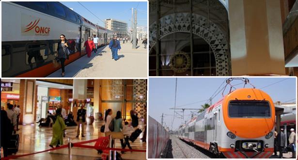 القطارات بالمغرب