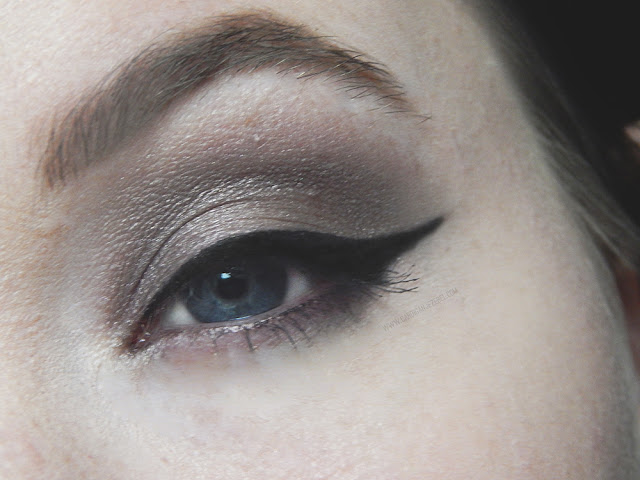 Smokey Valentine's Day Makeup