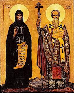 14/02  Thánh Ciryl và Thánh Methodius