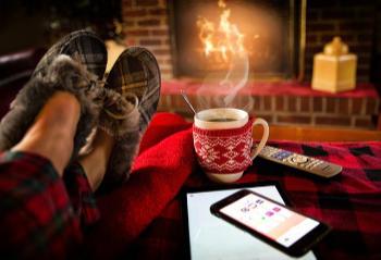 cosy in wintertime