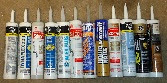 Caulking and adhesives