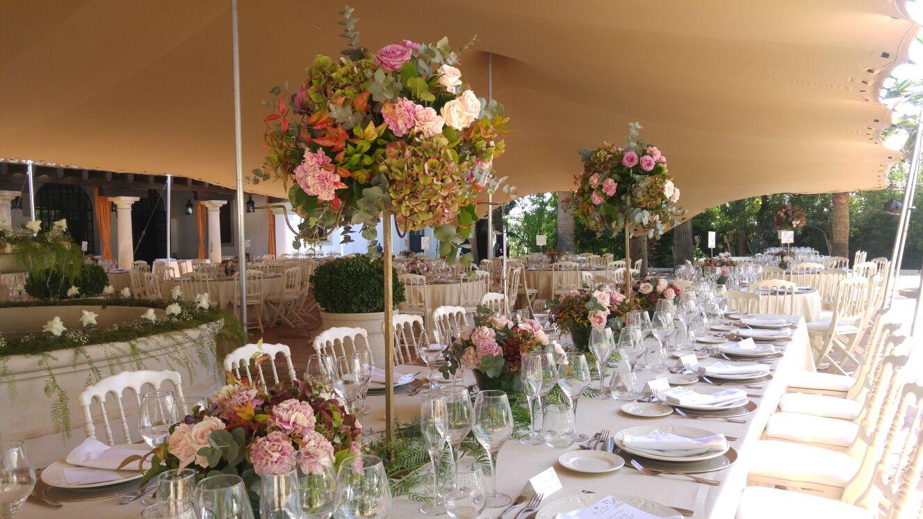 Tendencias para bodas en 2017 c rtamo flores for Decoracion en bodas 2016