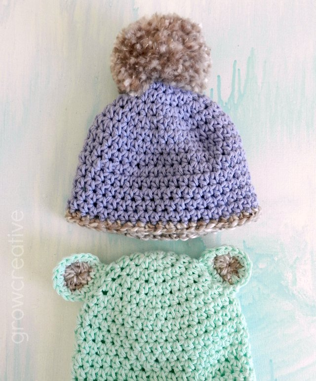 Crochet Hats for Kids by Grow Creative Blog