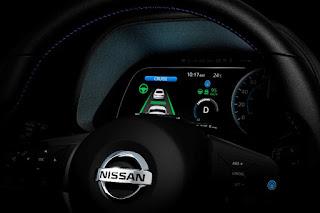 Nissan Leaf (2018) Instruments