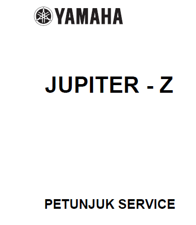 Service manual yamaha jupiter Z