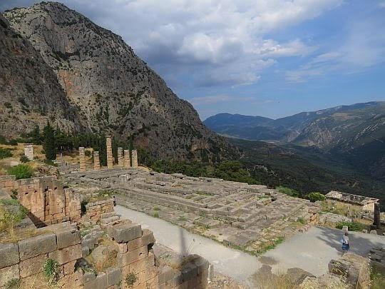 Ruiny Świątyni Apolliona.