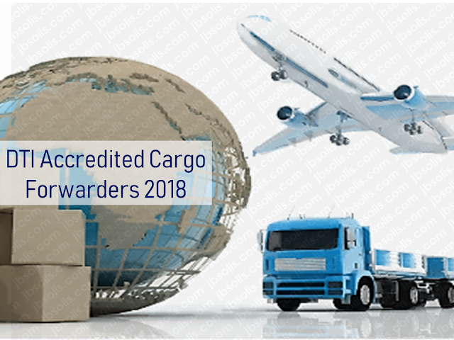Every overseas Filipino worker (OFW) must be aware of the cargo company where they send their hard-earned balikbayan boxes. Make sure that you only entrust them to the cargo and freight forwarders accredited by the Department of Trade and Industry (DTI) to assure its safety.        Ads      Sponsored Links  There were reports of loss, pilferage, and damaged items due to mishandling. If your cargo company is not licensed and accredited by the DTI, chances are, your complaints will be for nothing and you will lose your packages forever especially if the sent your cargo to a fly-by-night courier service.  DTI has released the latest list of accredited cargo forwarders as of September 2018.                                                                                                                                                                                                                                                                                  Just check the list of the accredited cargo forwarders in your host country to make sure that the balikbayan box you diligently saved for months just to send them to your loved ones may surely reach its destination safely and should any problem arise, you can always reach the DTI to file complaints.    For complaints and queries, you can contact DTI at the following:   DEPARTMENT OF TRADE & INDUSTRY Trade & Industry Building 361 Senator Gil J. Puyat Avenue, Makati City Metro Manila, Philippines 1200  Trunkline: (+632) 7510-DTI (384) Office Hours: 8:00am-5:00pm, Monday to Friday (excluding holidays)  DTI Direct Hotline: (+632) 751.3330 Mobile: (+63) 917.834.3330 Email: ask@dti.gov.ph Filed under the category of overseas Filipino worker, OFW, balikbayan boxes, cargo and freight forwarders, Department of Trade and Industry , DTI accredited,