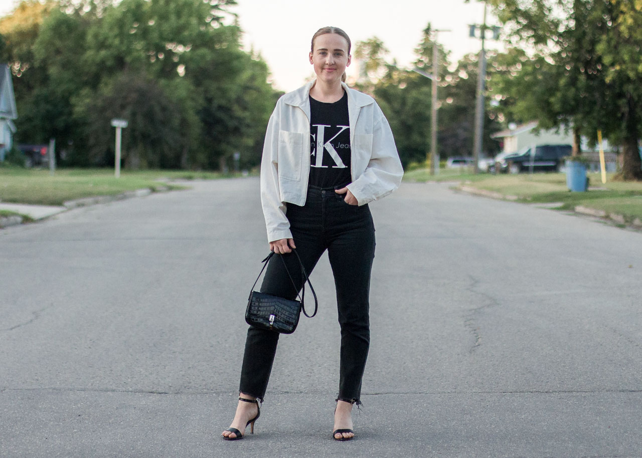 Black wardrobe staples - Vancouver Fashion Blogger - Levi's - Calvin Klein - outfit
