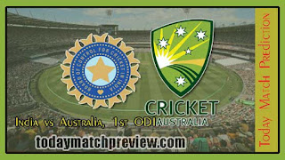 1st ODI AUS vs IND Today Match Prediction | Who will win IND vs AUS