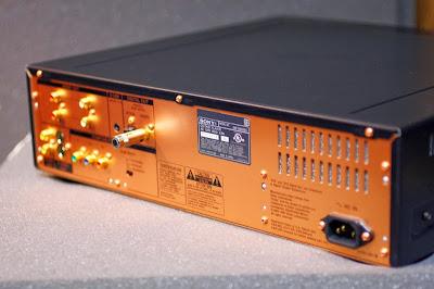 SONY DVP-S9000ES Back Panel