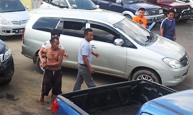 Hobi Curi Minyak, Kakek Ini Huni Hotel Polisi Lagi