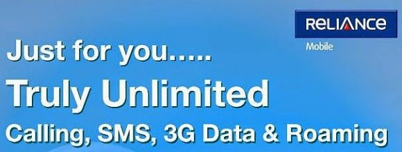 RCom 'True Unlimited' Mobile Internet Plan
