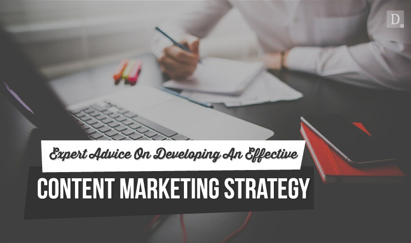 Expert Advice On Developing An Effective #ContentMarketing Strategy - #infographic
