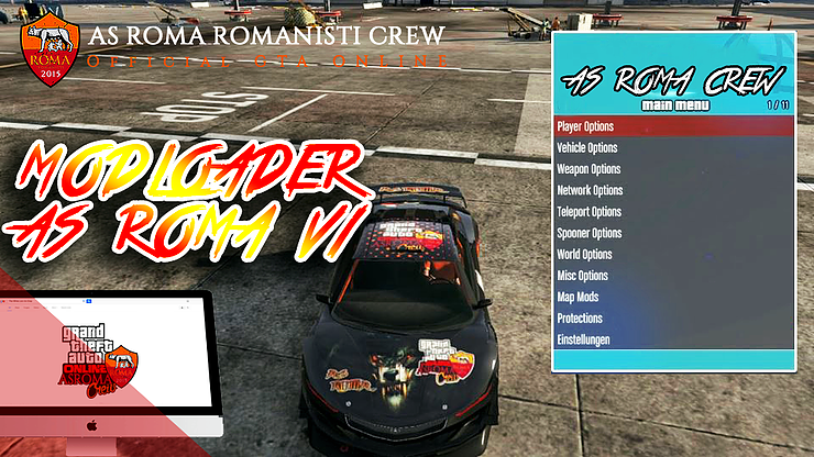 AS ROMA CREW OFFICIAL GTA ONLINE