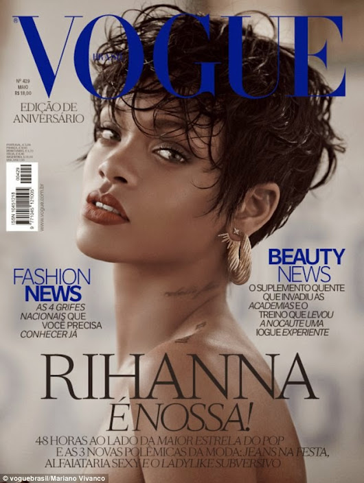 Style Babe: Rihanna for Vogue Brazil May Issue 2014