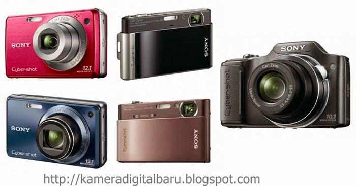 Daftar Harga Kamera Saku dari Sony Terbaru