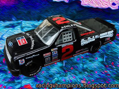 Dave Ashley #2 So. Cal. Ford Dealers Ultra Custom Wheels Racing Champions 1/64 NASCAR diecast blog Supertrucks Super Trucks 1994 1995 David off road
