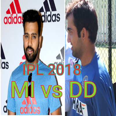 DD vs MI IPL 2018 match 9 Cricket, live score updates