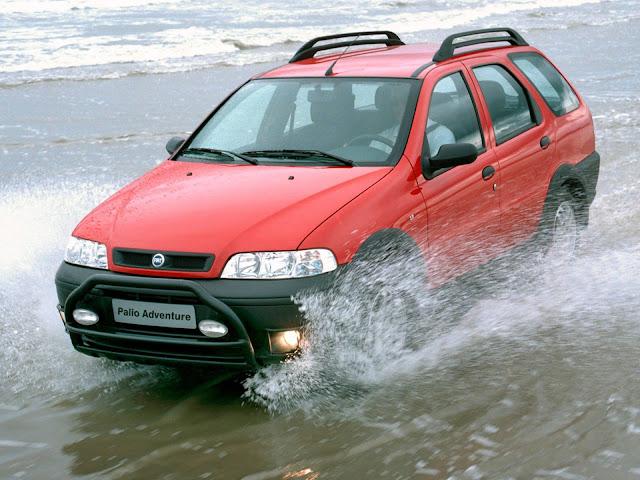 Fiat Palio Weekend Adventure 2001